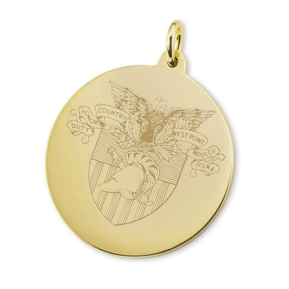West Point 14K Gold Charm