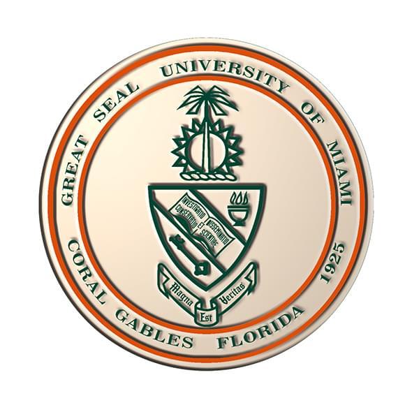 University Of Miami Diploma Frame Excelsior Graduation