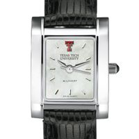 Texas Tech Women's MOP Quad with Leather Strap