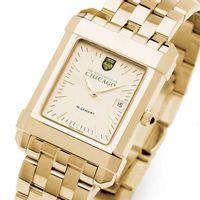 Chicago Men's Gold Quad Watch with Bracelet