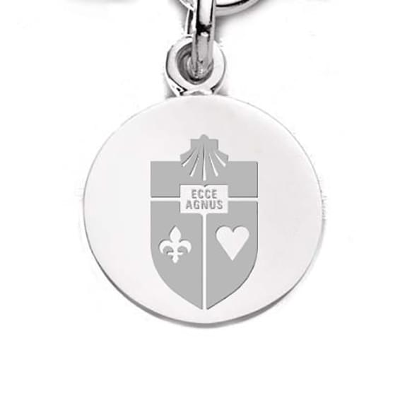St. John's Sterling Silver Charm