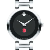 NC State Women's Movado Museum with Steel Bracelet