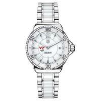 Virginia Tech Women's TAG Heuer Formula 1 Ceramic Diamond Watch