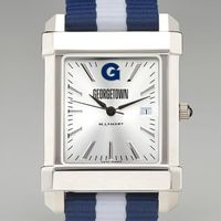 Georgetown Men's Collegiate Watch with NATO Strap