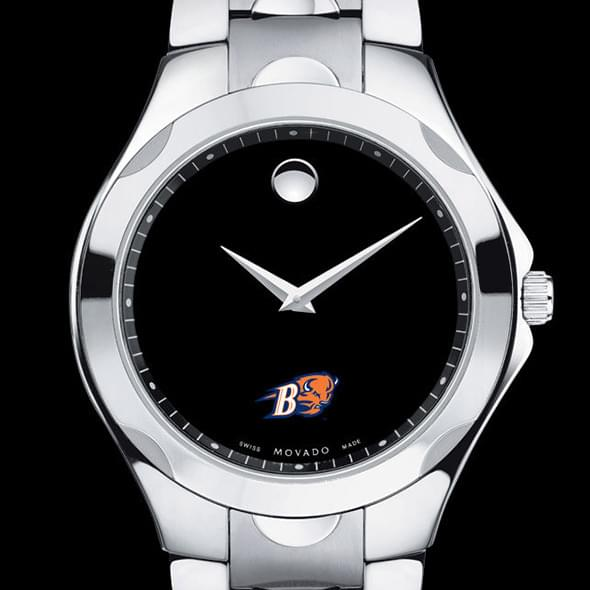 Bucknell Men's Movado Luno Sport with Steel Bracelet