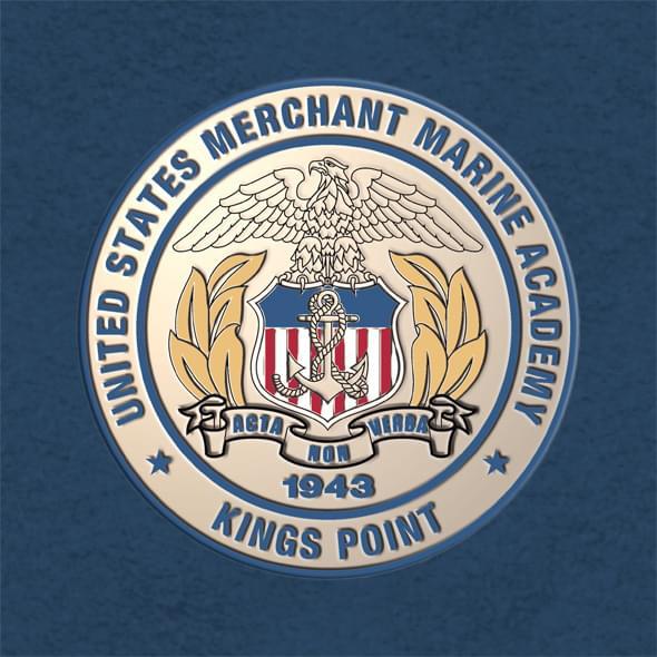 Us Merchant Marine Academy Diploma Frame Excelsior