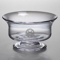 WUSTL Large Glass Bowl by Simon Pearce