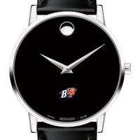 Bucknell Men's Movado Museum with Leather Strap