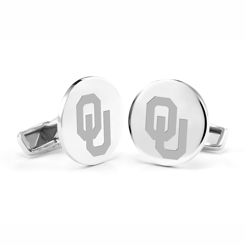 Oklahoma Sterling Silver Cufflinks