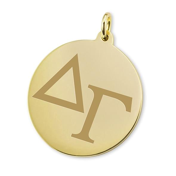 Delta Gamma 14K Gold Charm