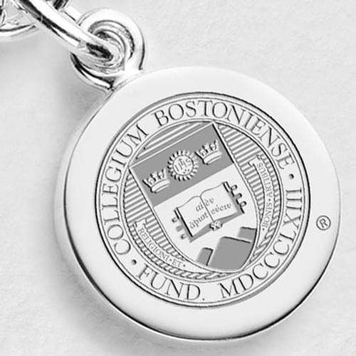Boston College Sterling Silver Charm
