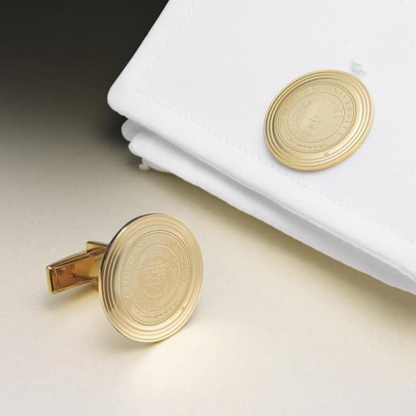 Auburn 18K Gold Cufflinks
