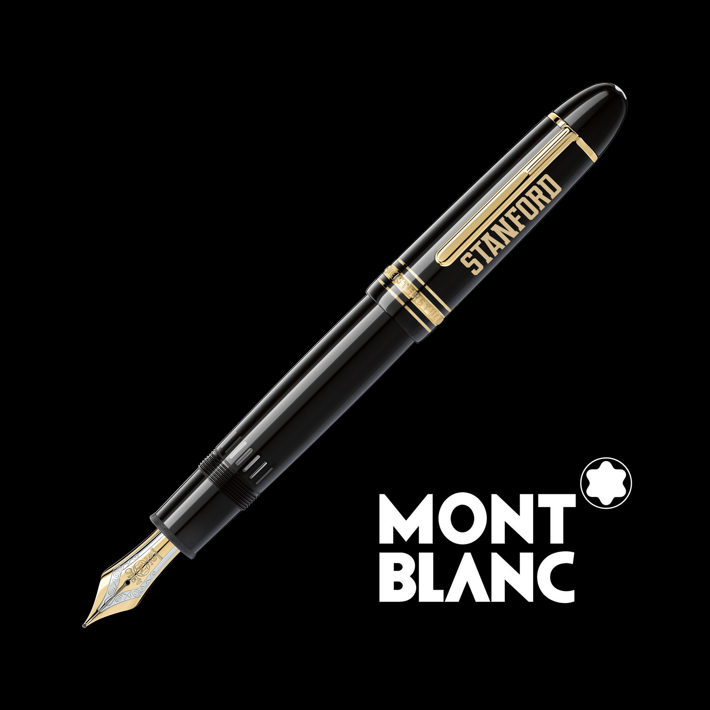 Stanford University Montblanc Meisterstück 149 Fountain Pen in Gold
