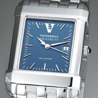 Vanderbilt Men's Blue Quad Watch with Bracelet
