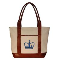 Columbia Needlepoint Tote
