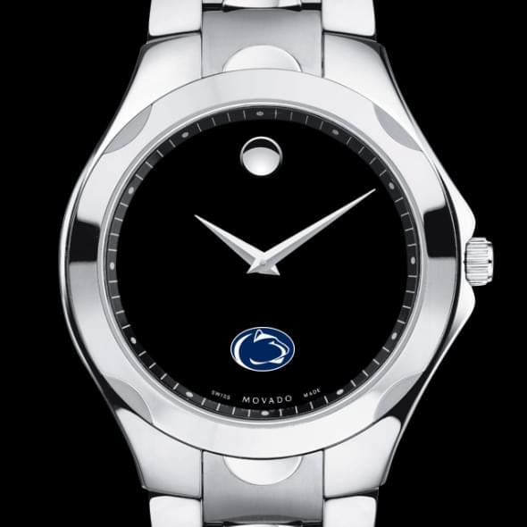 Penn State Men's Movado Luno Sport with Steel Bracelet