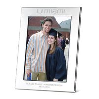 Miami Polished Pewter 5x7 Picture Frame