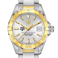 Texas A&M Women's TAG Heuer Two-Tone Aquaracer