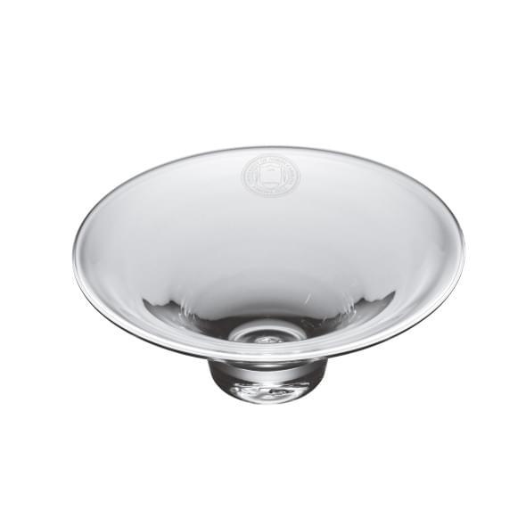 UNC Glass Hanover Bowl by Simon Pearce