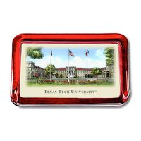 Texas Tech Eglomise Paperweight
