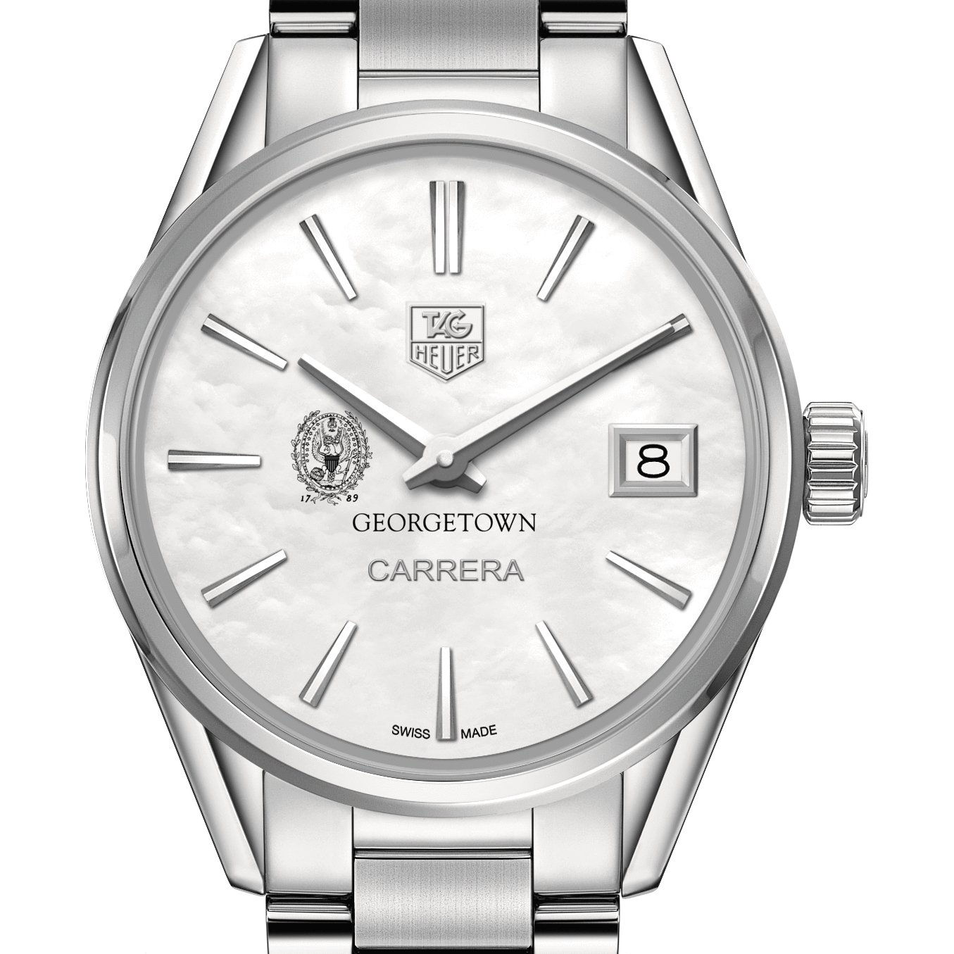 Georgetown Women's TAG Heuer Steel Carrera with MOP Dial
