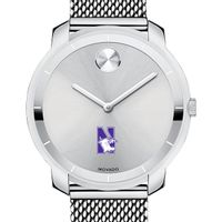 Northwestern Women's Movado Stainless Bold 36