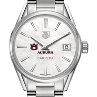 Auburn Women's TAG Heuer Steel Carrera with MOP Dial