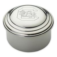 South Carolina Pewter Keepsake Box