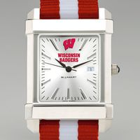 Wisconsin Men's Collegiate Watch w/ NATO Strap