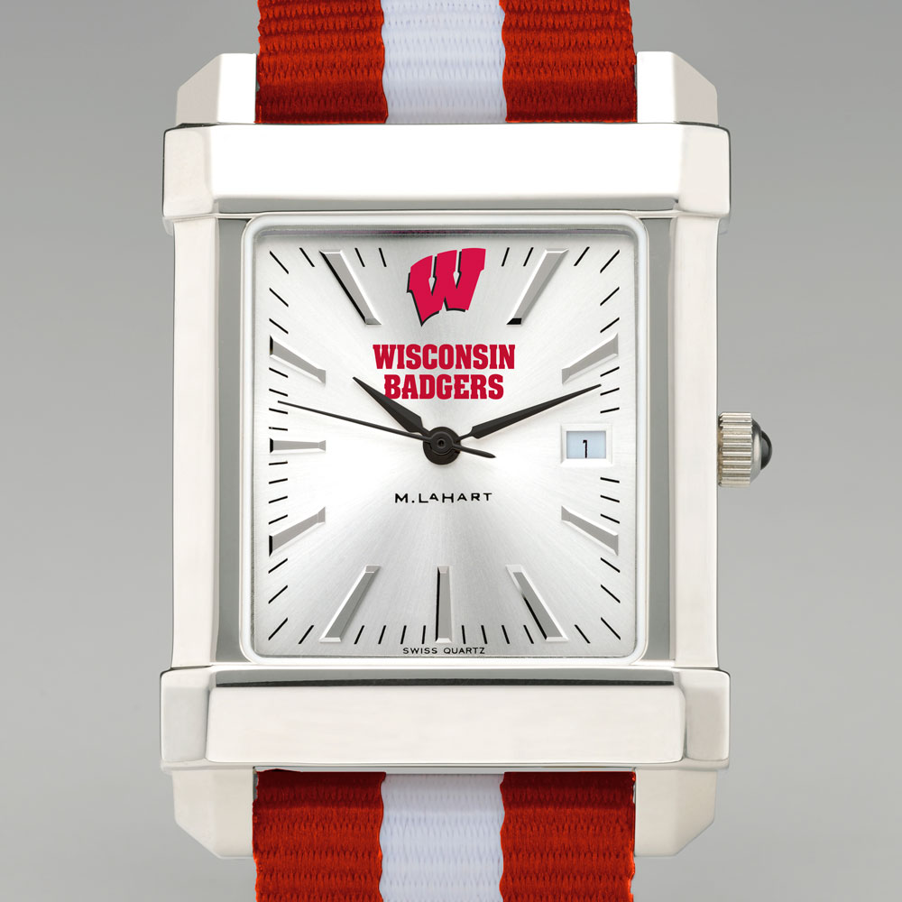Wisconsin Men's Collegiate Watch w/ NATO Strap