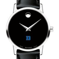 Duke Women's Movado Museum with Leather Strap