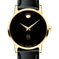 Emory Women's Movado Gold Museum Classic Leather