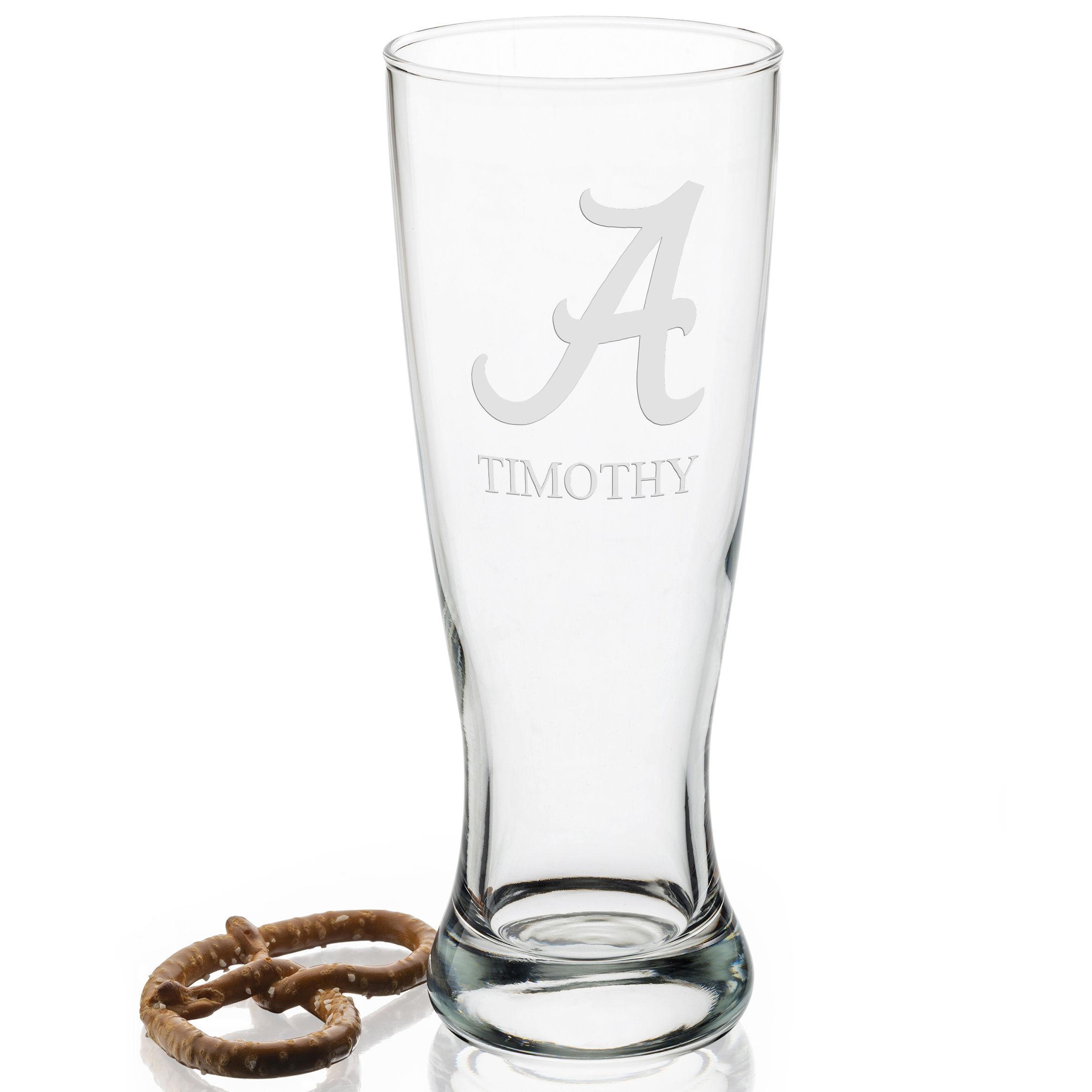 Alabama Tall 20oz Pilsner Glasses - Set of 2