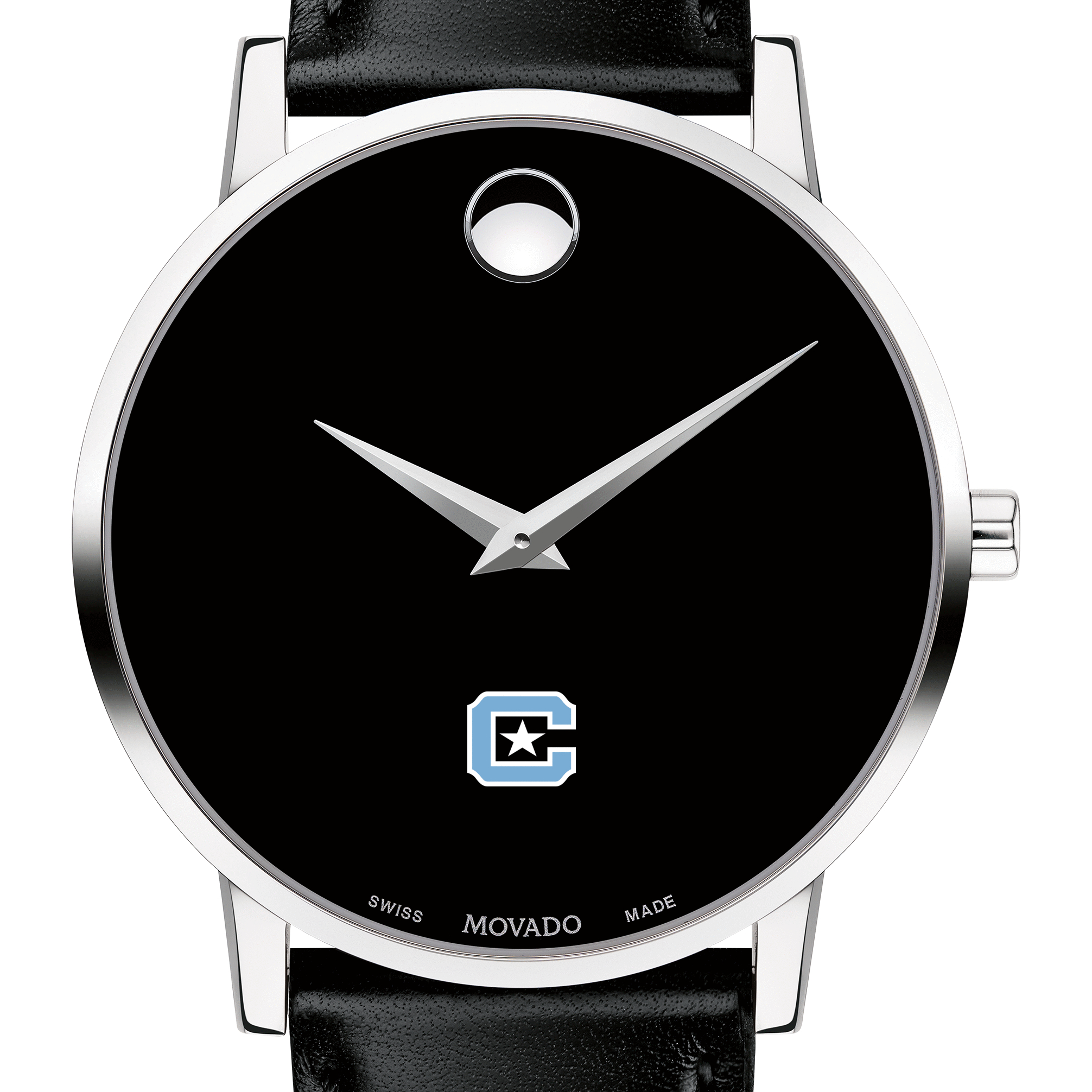 Citadel Men's Movado Museum with Leather Strap