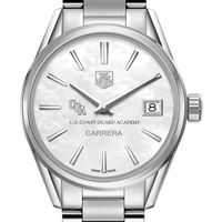 Coast Guard Academy Women's TAG Heuer Steel Carrera with MOP Dial