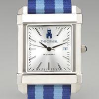 Citadel Men's Collegiate Watch w/ NATO Strap