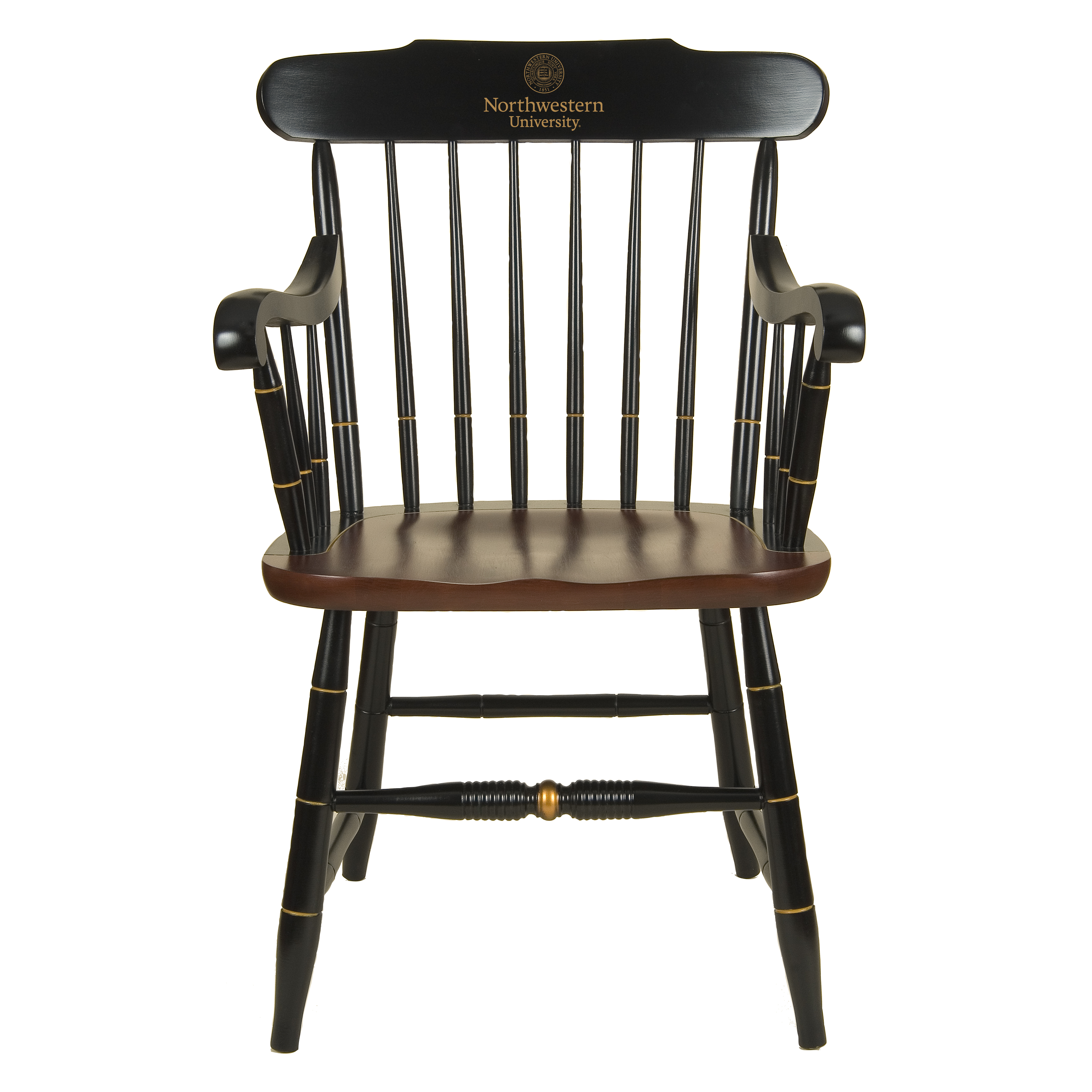 Northwestern Captain Chair At M Lahart Co
