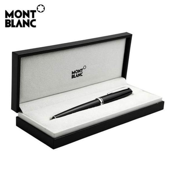 Auburn University Montblanc Meisterstück Midsize Ballpoint Pen in Platinum