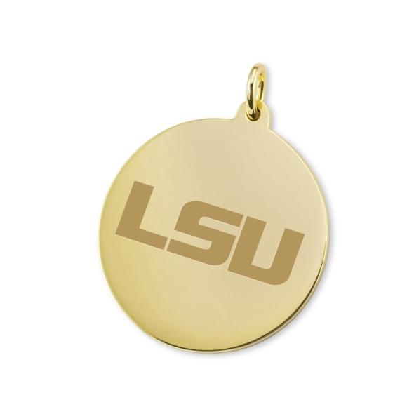LSU 14K Gold Charm