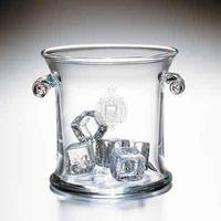 USNA Glass Ice Bucket by Simon Pearce