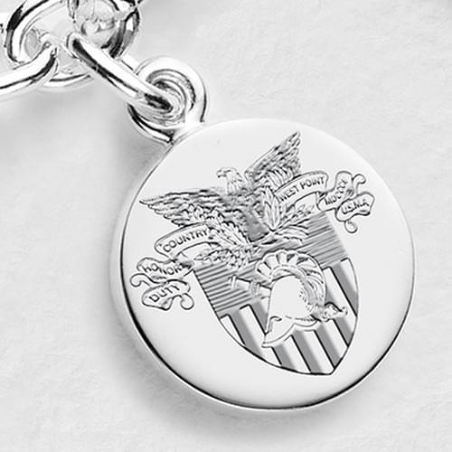 West Point Sterling Silver Charm