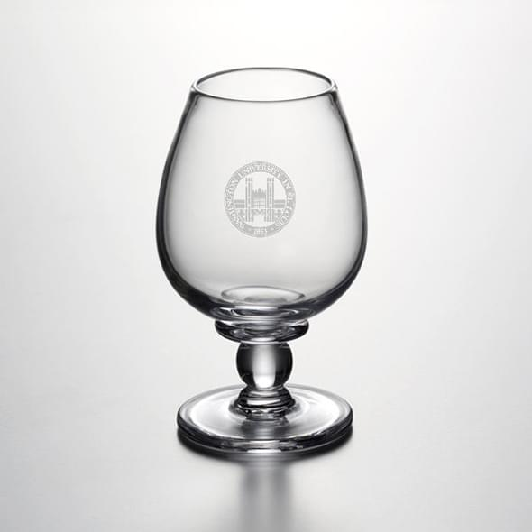 WUSTL Glass Brandy Snifter by Simon Pearce