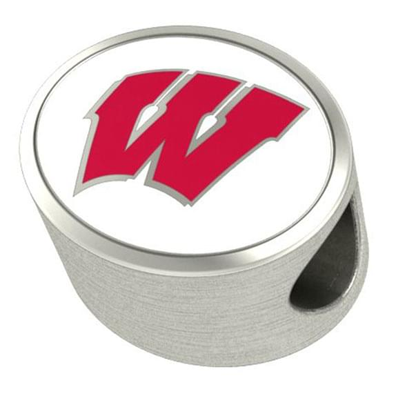 Wisconsin Enameled Premium Bead