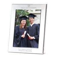 Texas A&M Polished Pewter 5x7 Picture Frame
