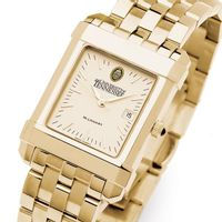 Tennessee Men's Gold Quad Watch with Bracelet
