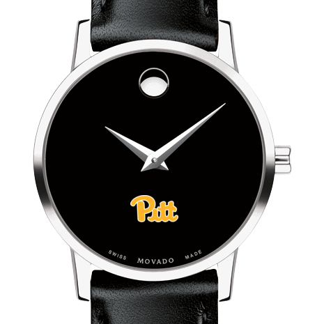 Pitt Women's Movado Museum with Leather Strap