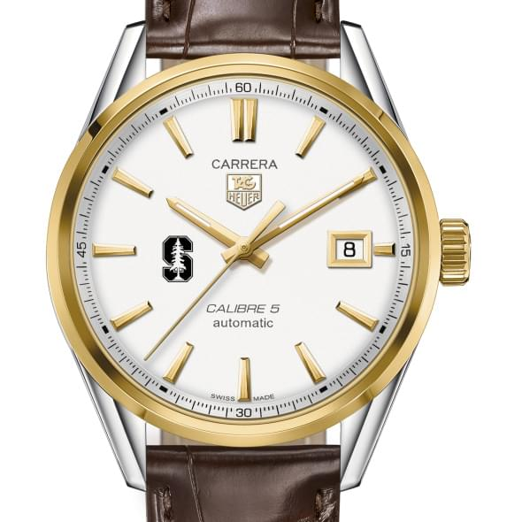Stanford University Men's TAG Heuer Two-Tone Carrera with Strap