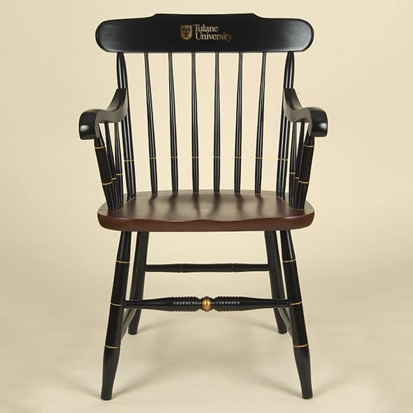 Tulane Captain's Chair
