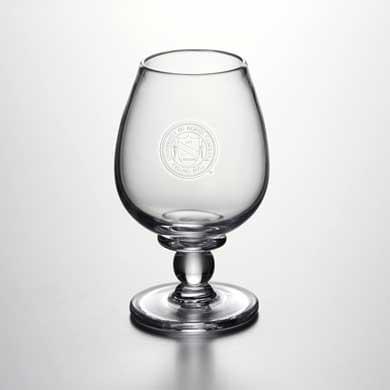 UNC Glass Brandy Snifter by Simon Pearce