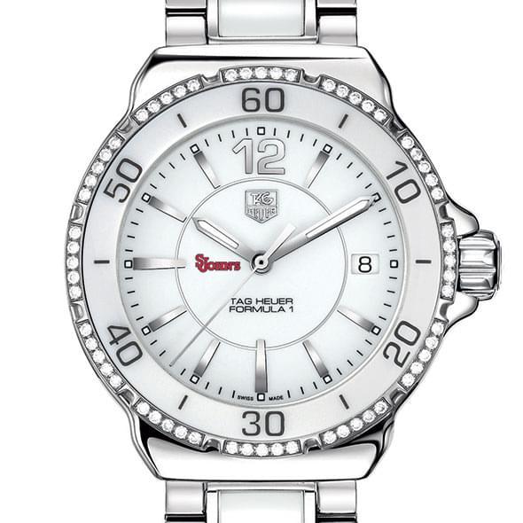 St. John's Women's TAG Heuer Formula 1 Ceramic Diamond Watch